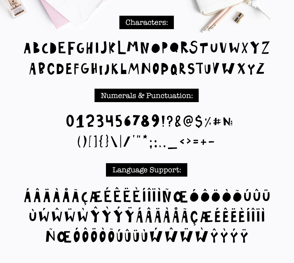 Playful Font - Display Typeface example image 2