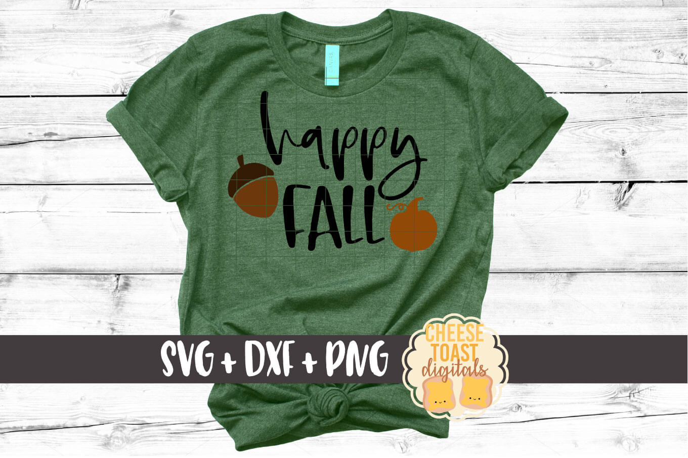 Happy Fall - Fall SVG File example image 1