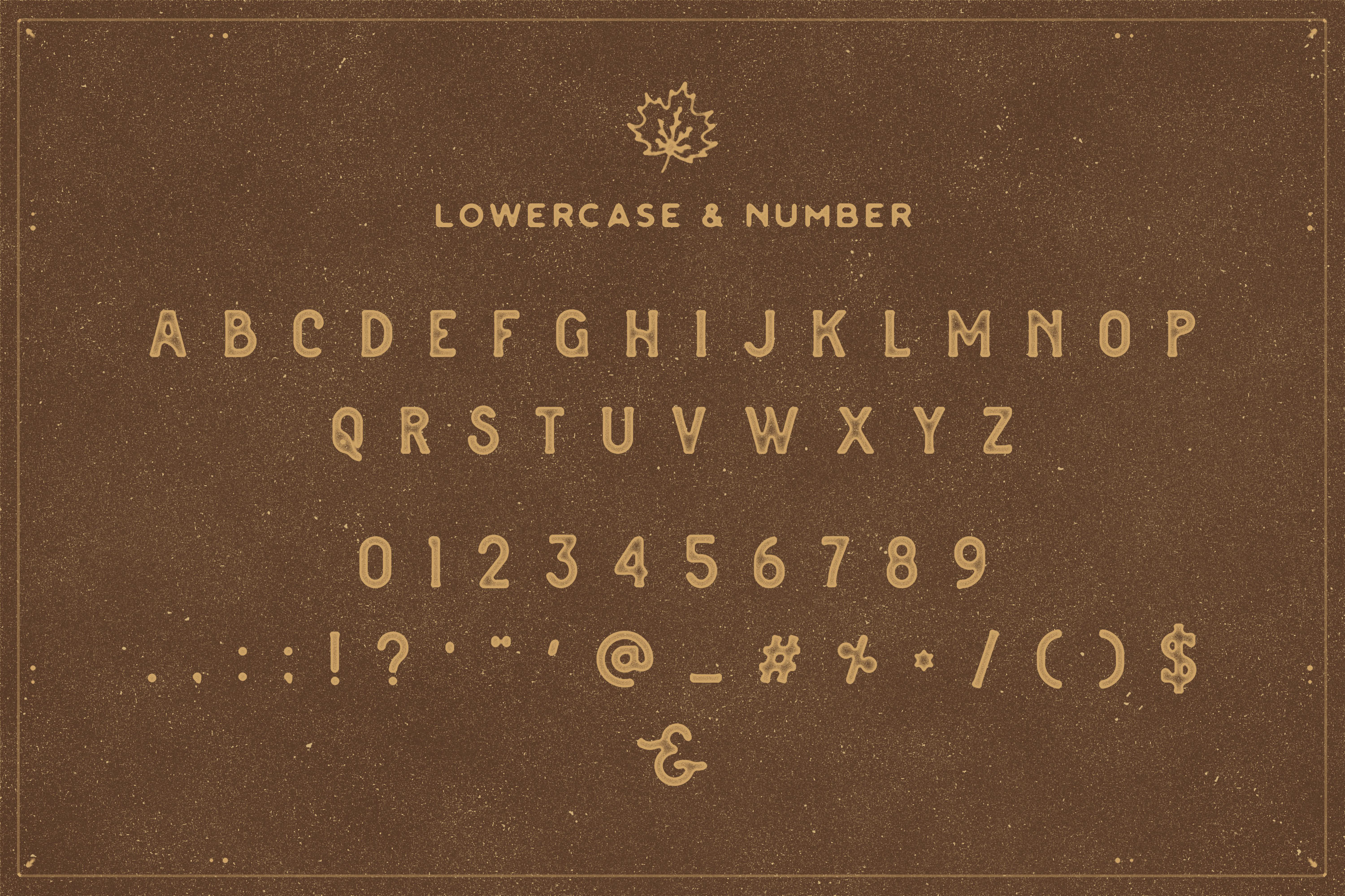 The Brewski - Textured Typeface example image 7