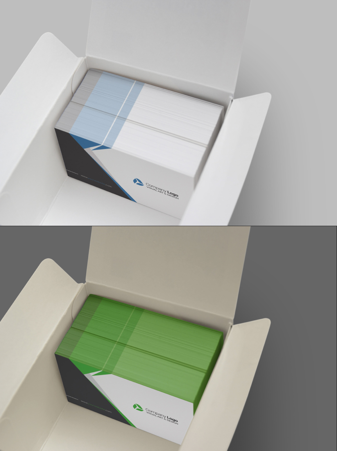 Realistic Business Card Mockups example image 8