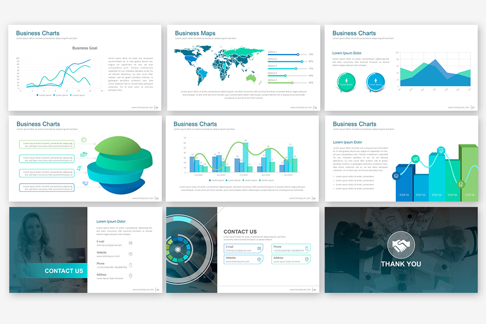 EB Powerpoint Template example image 5