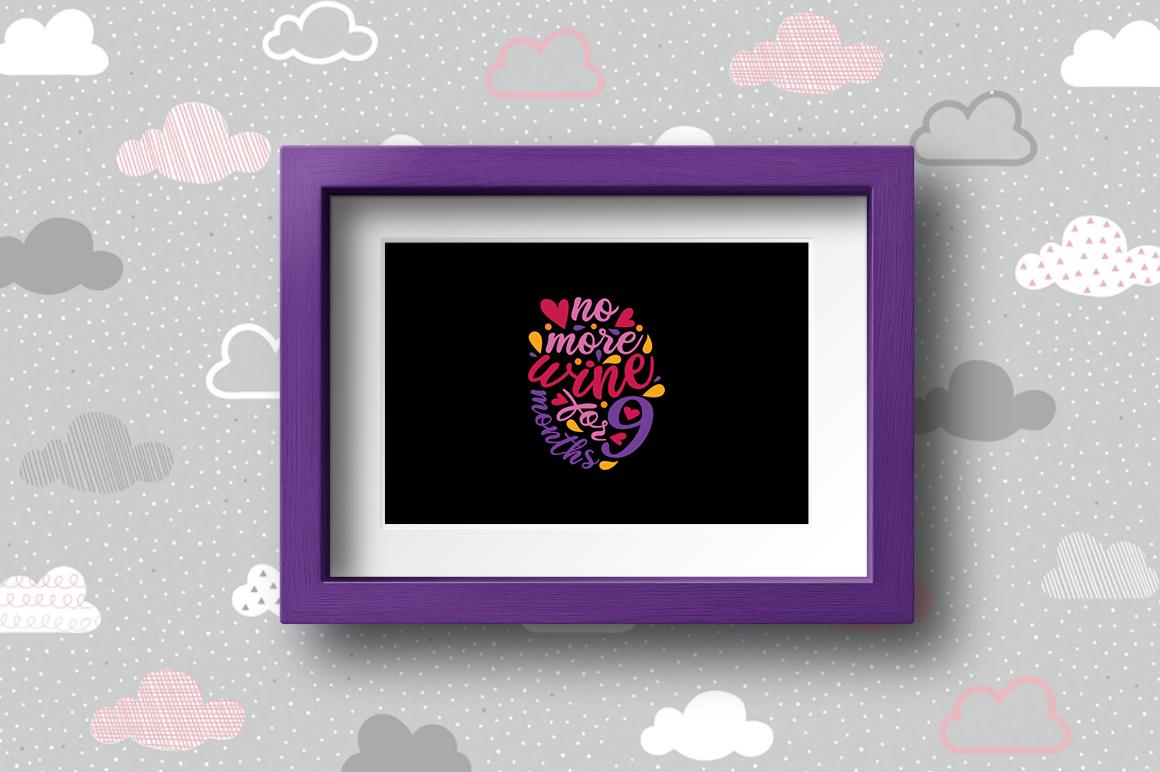BUNDLE Pregnancy Announcement SVG Cut Files example image 17