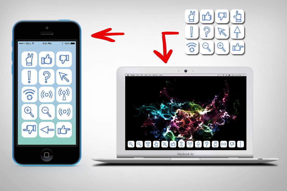 16 Pixel icons set. example image 4