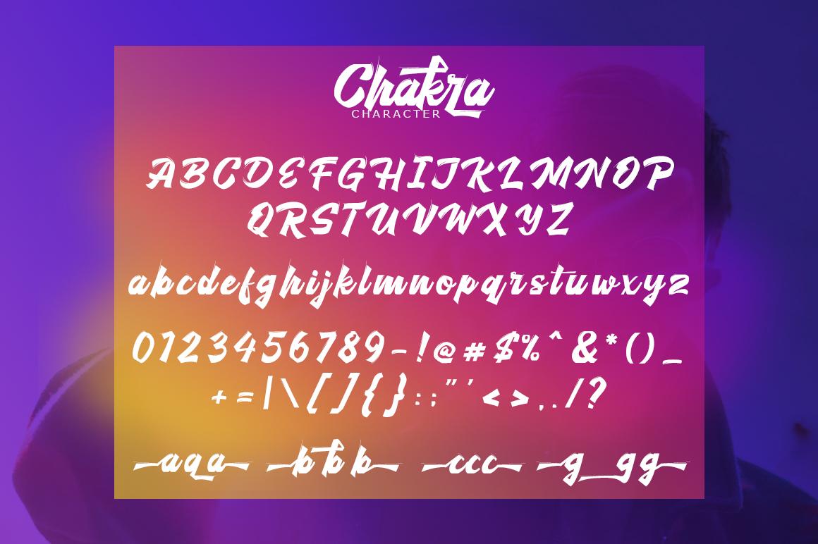 Cakra Script example image 7