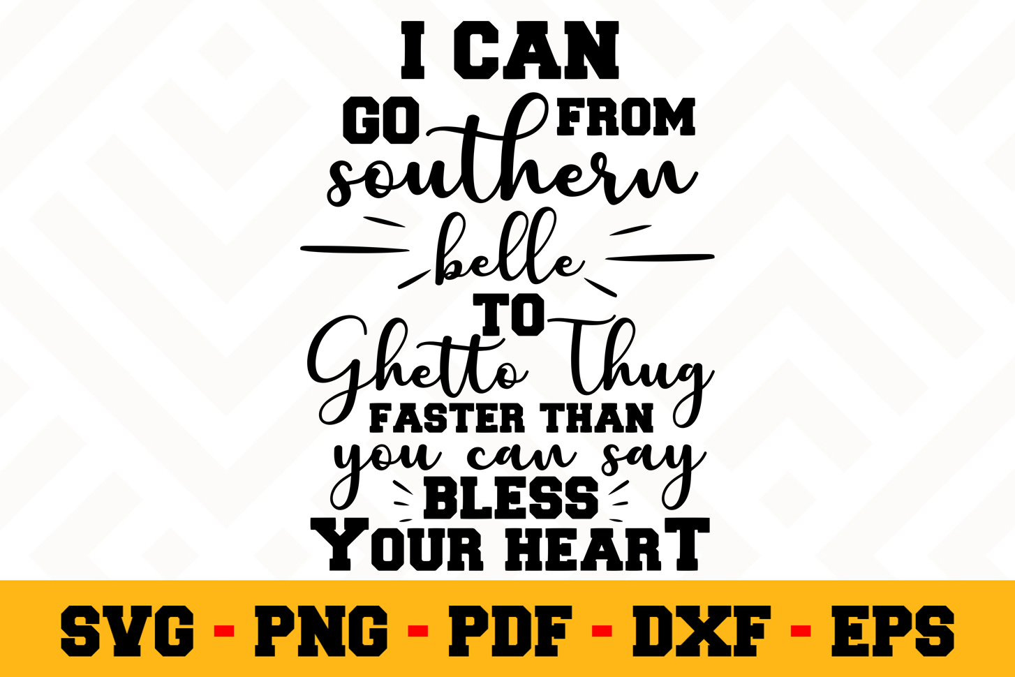 Southern SVG Design n663 | Southern SVG Cut File example image 1