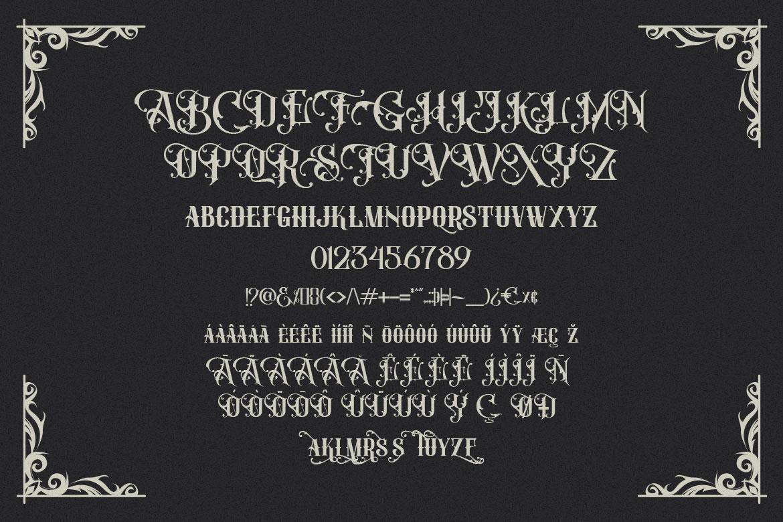 FORBES - Modern Vintage Font example image 10