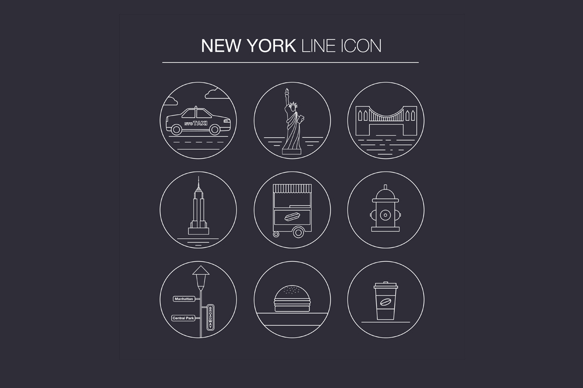 NEW YORK vector collection example image 7