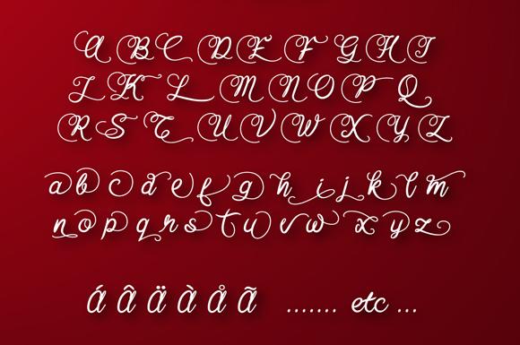 Baline Script example image 4