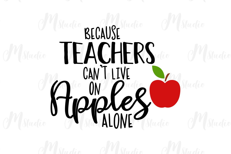 Teacher SVG Bundle. example image 22
