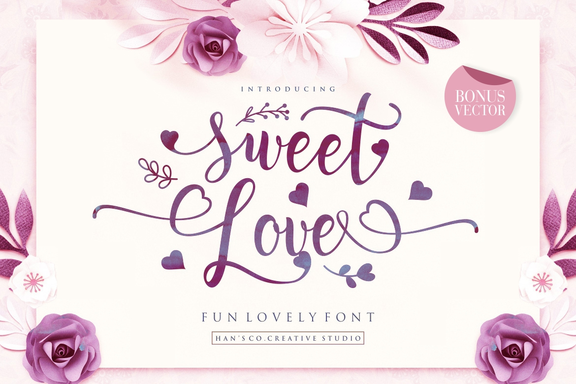 Sweet Lovely Font example image 1