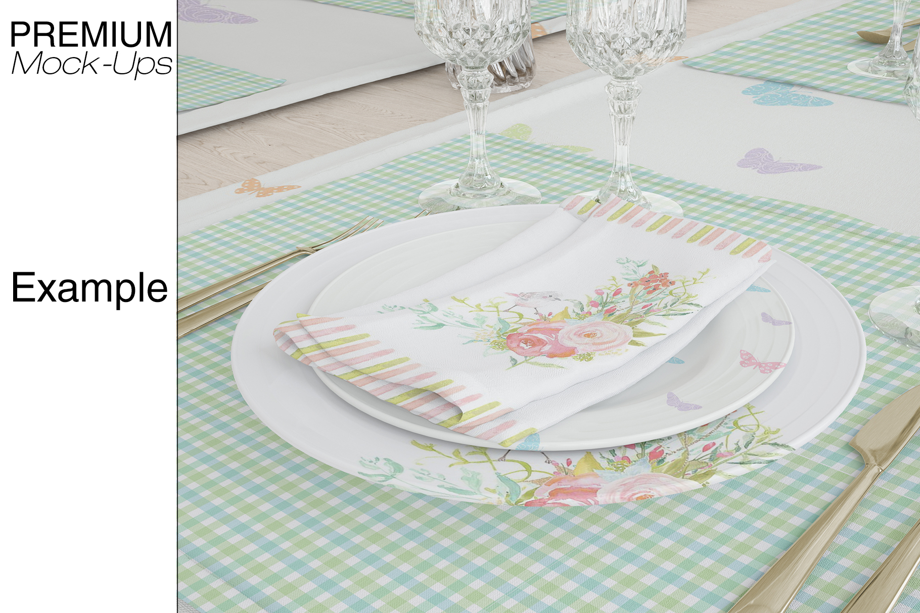 Tablecloth, Runner, Napkins & Plates example image 12