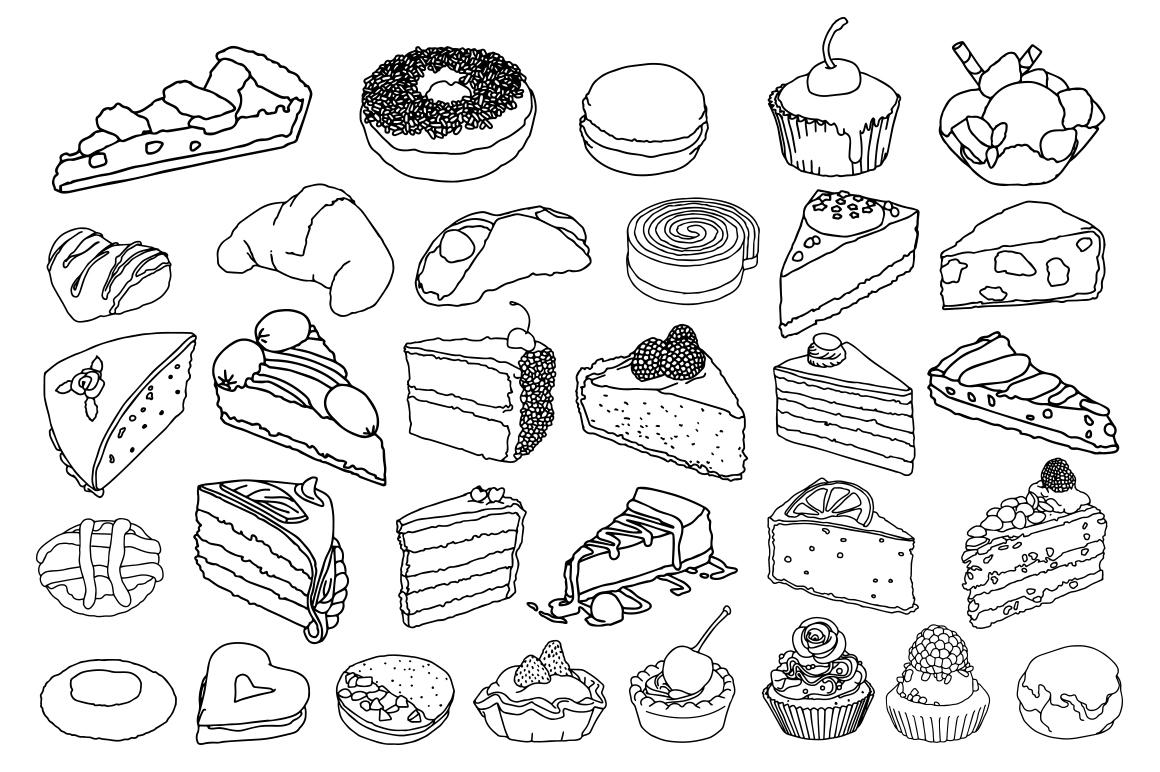 Sweet Food vector example image 2