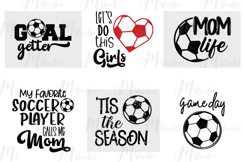 Soccer svg bundle example image 4