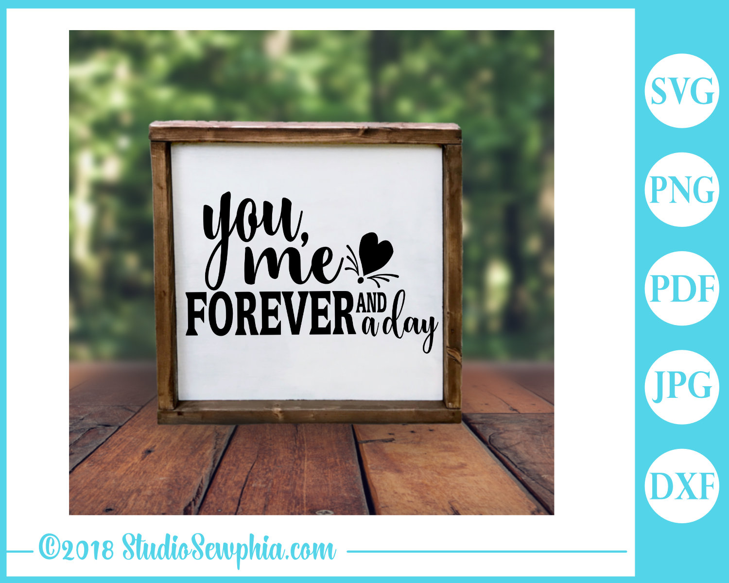 You, Me, Forever and a Day by Digital Doodle Pad example image 3