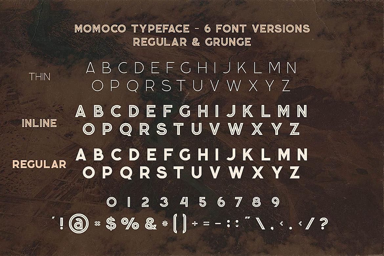 Momoco - Display Font example image 6