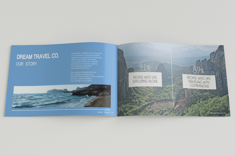 Travel Agency Printable Catalogue - A5-26 PSD Templates example image 4