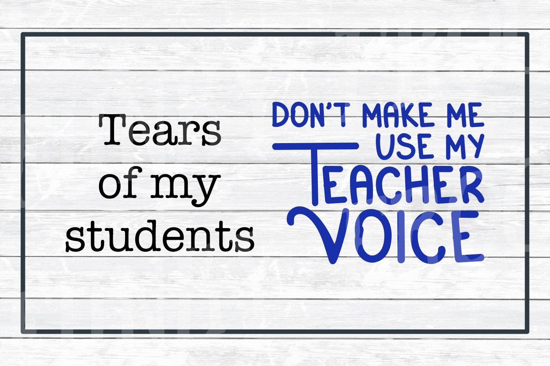 Teacher Designs Bundle- Teacher SVG Cut Files example image 6