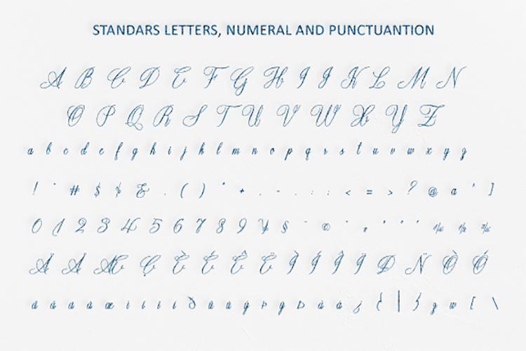 Opulent Script example image 5