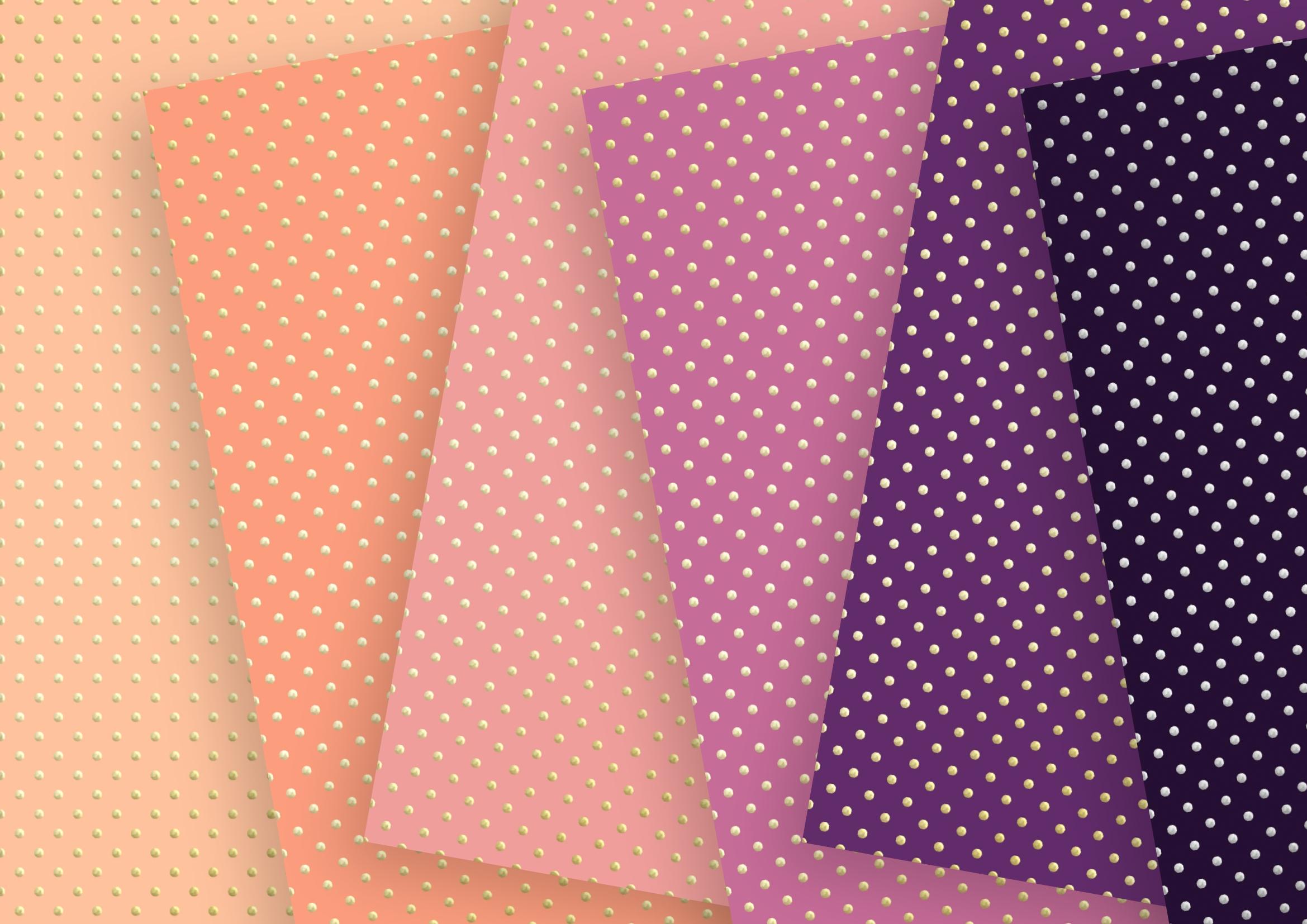 Twilight Soft Gold Digital Paper example image 2