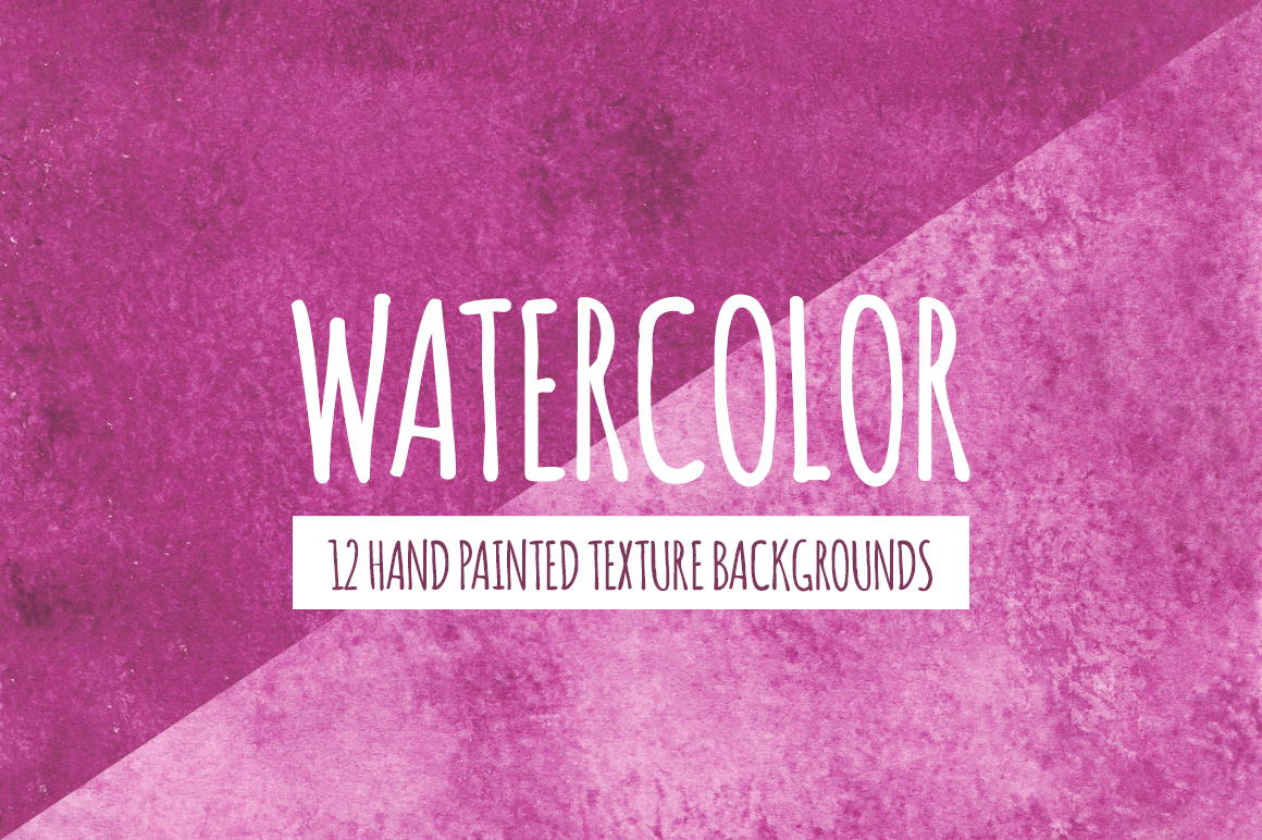 Watercolor Texture Bundle + Bonus example image 12