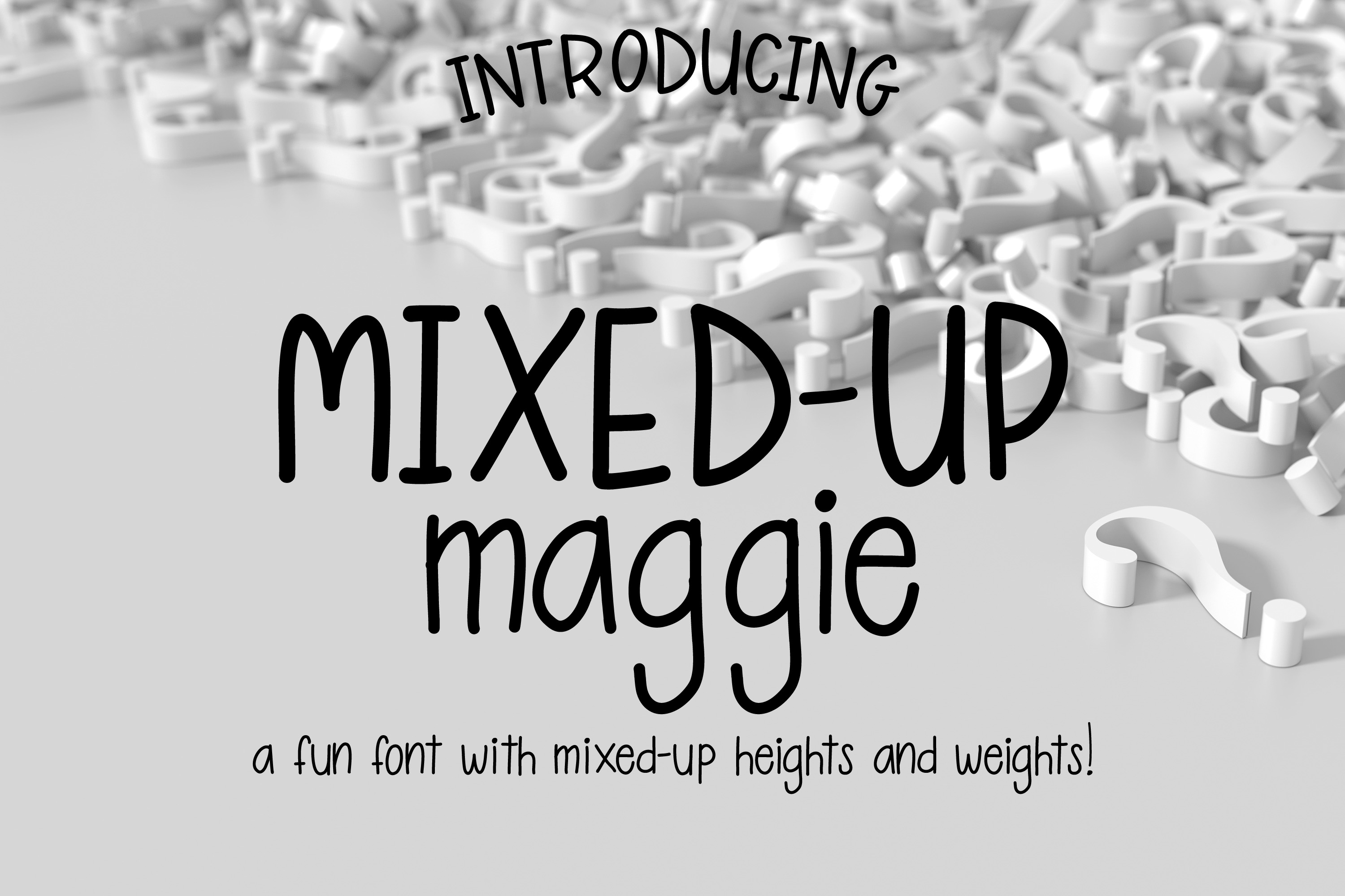 Mixed-Up Maggie example image 1