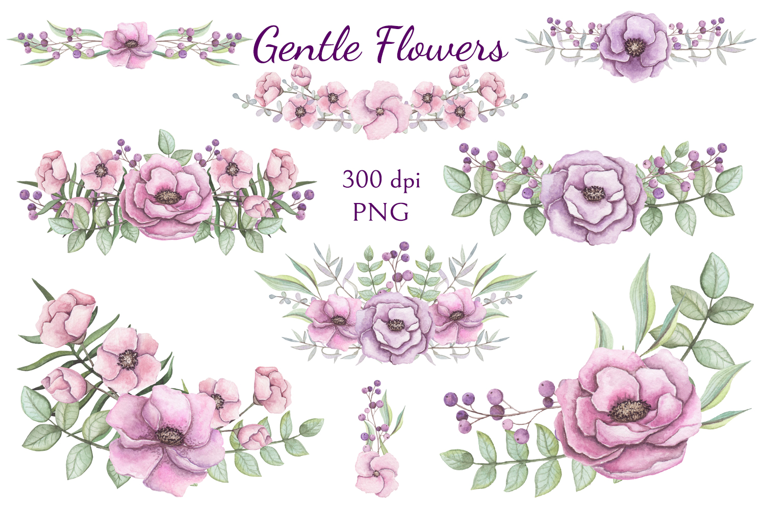 Gentle Flowers example image 5
