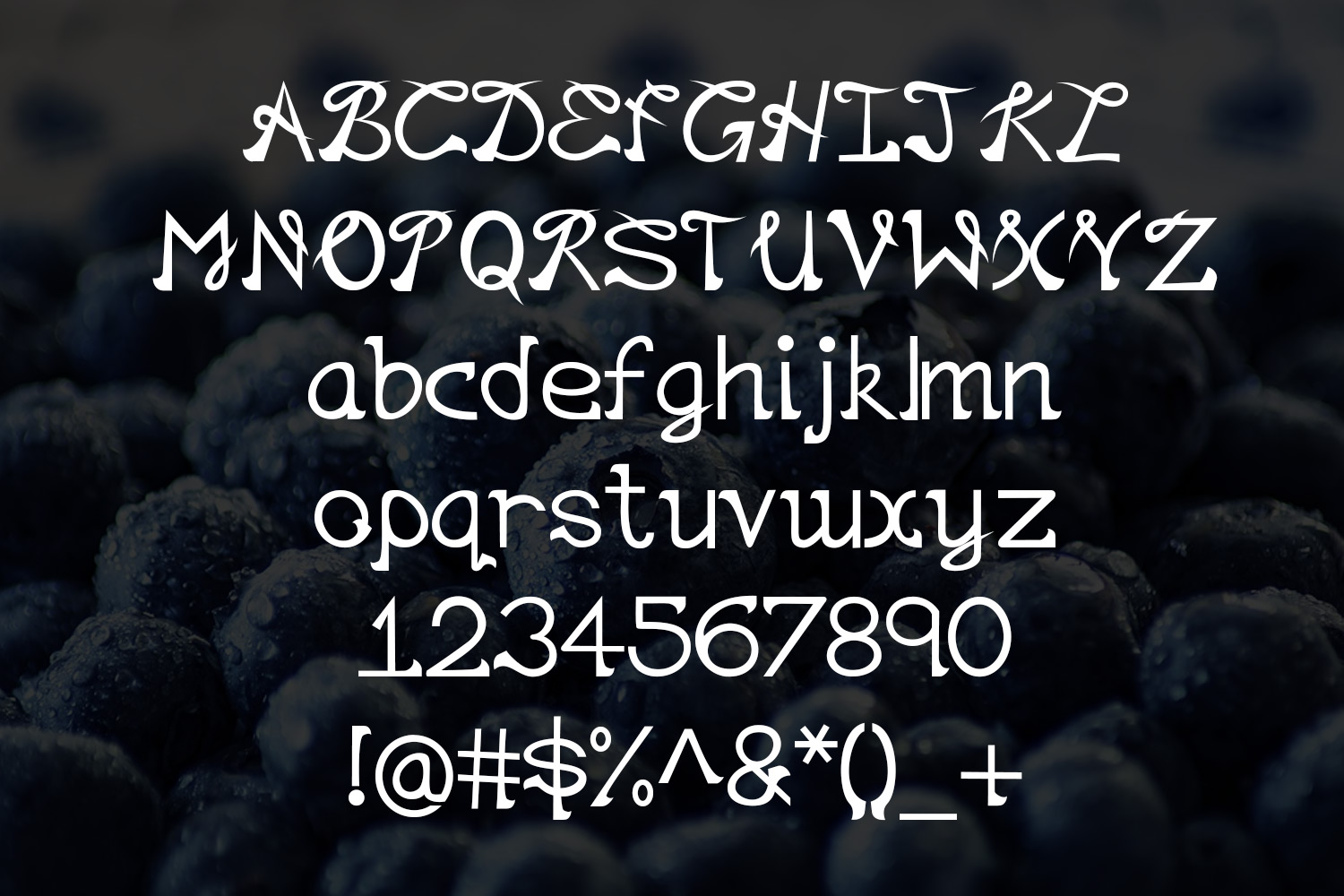EP Lazy - handwritten font example image 2