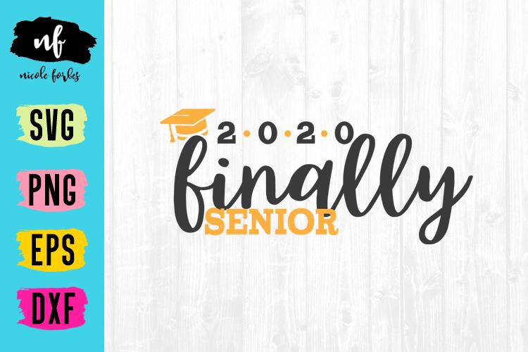 Senior 2020 Graduation SVG Bundle example image 7