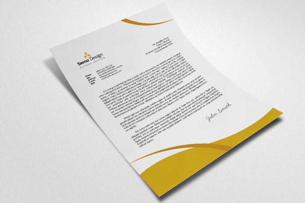 Business Letterhead example image 3