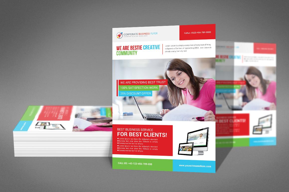 Creative Company Flyer example image 2