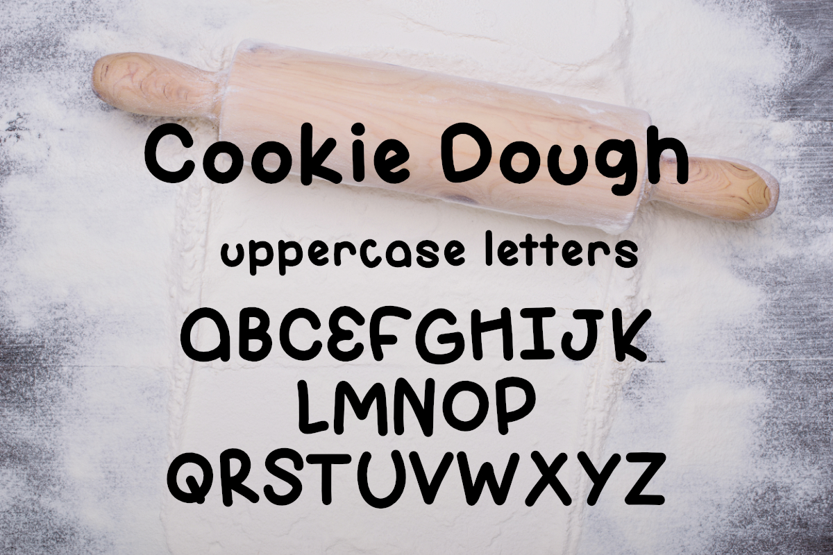 Cookie Dough Font example image 3