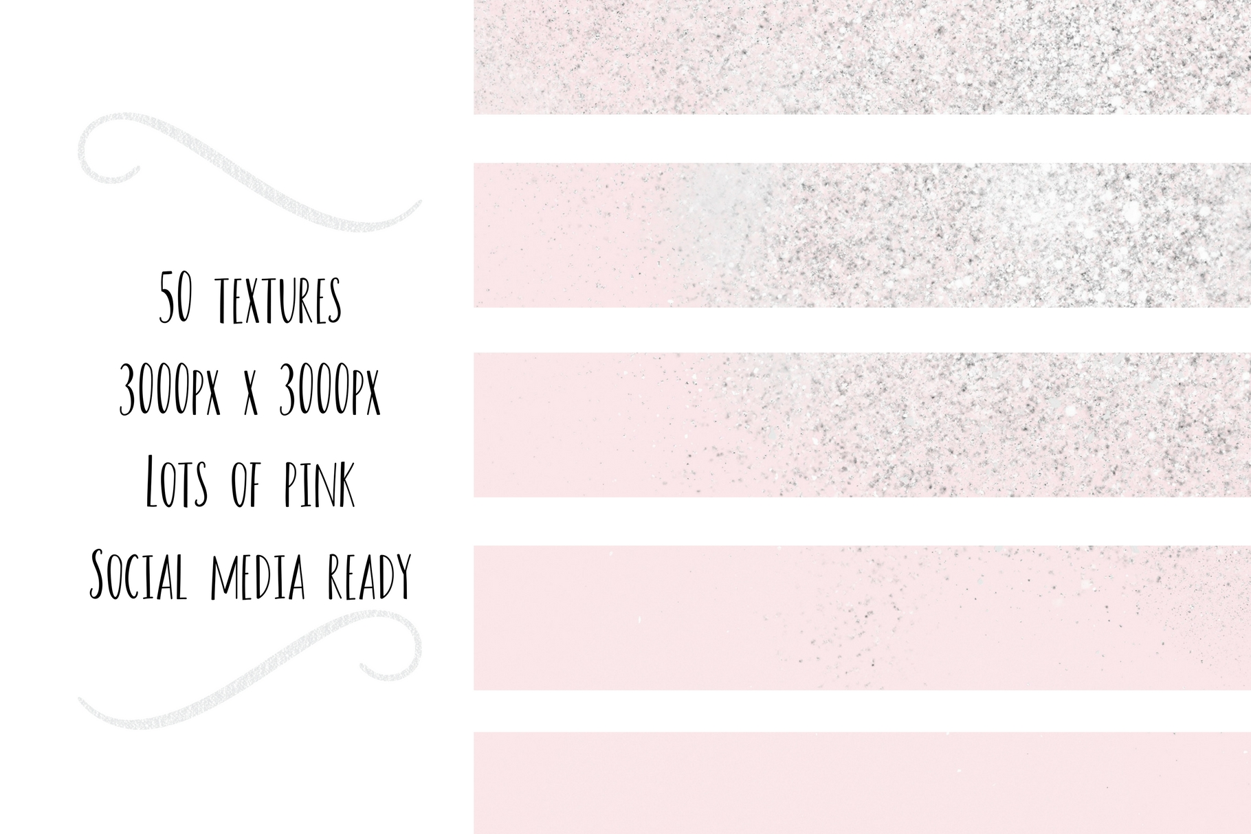 Paint and Pink Textures+quotes example image 9