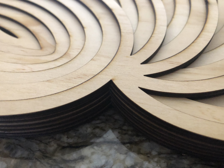 Set of Multilayer Mandala