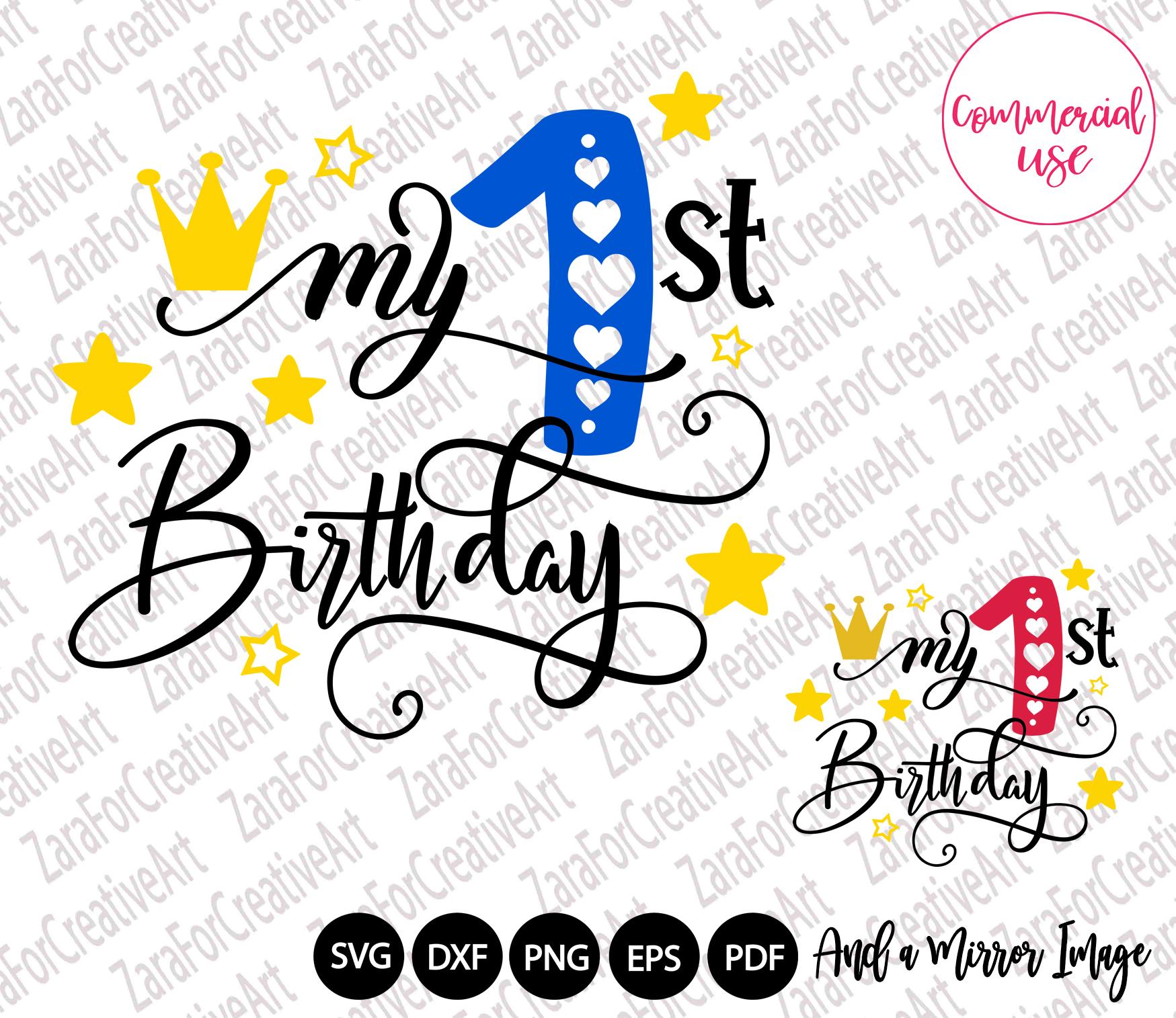 my birthday svg bundle, birthday girl bundle birthday boy , example image 2