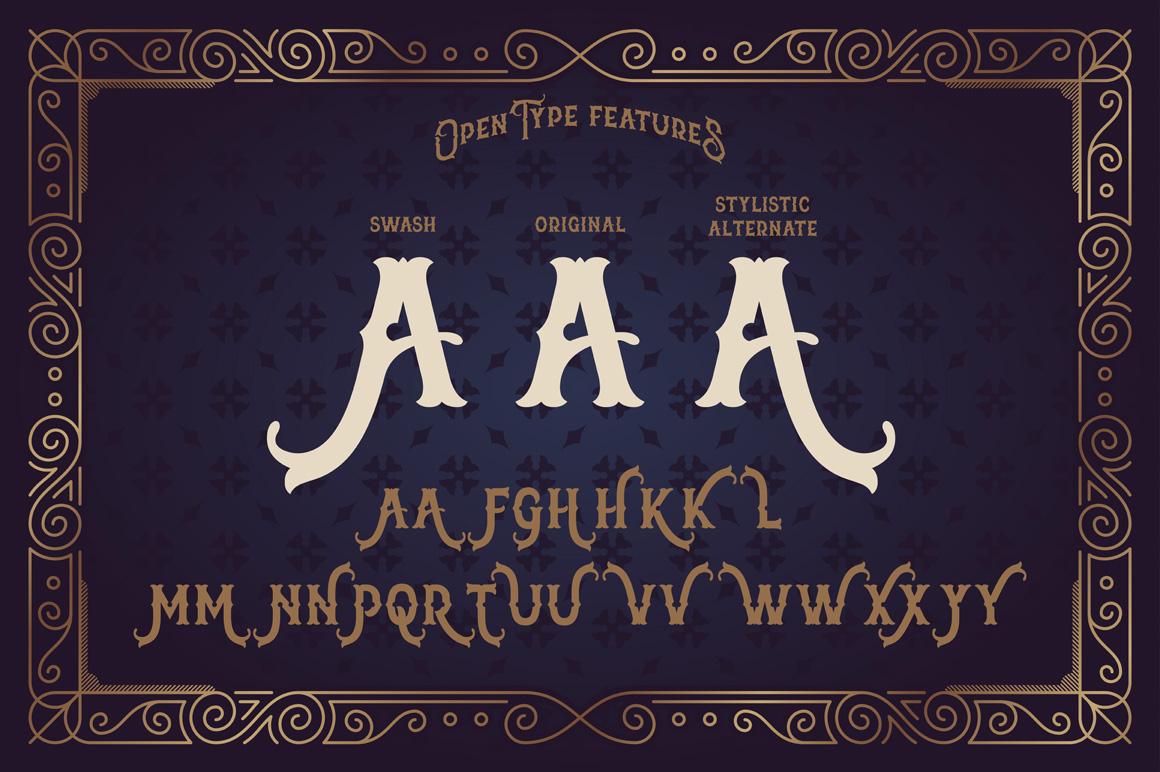 The Far Kingdoms font example image 5