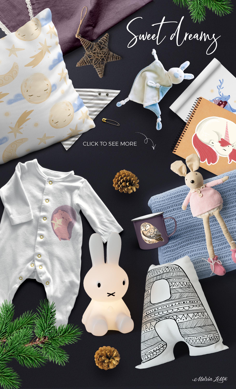 Good night - kids design creator example image 5