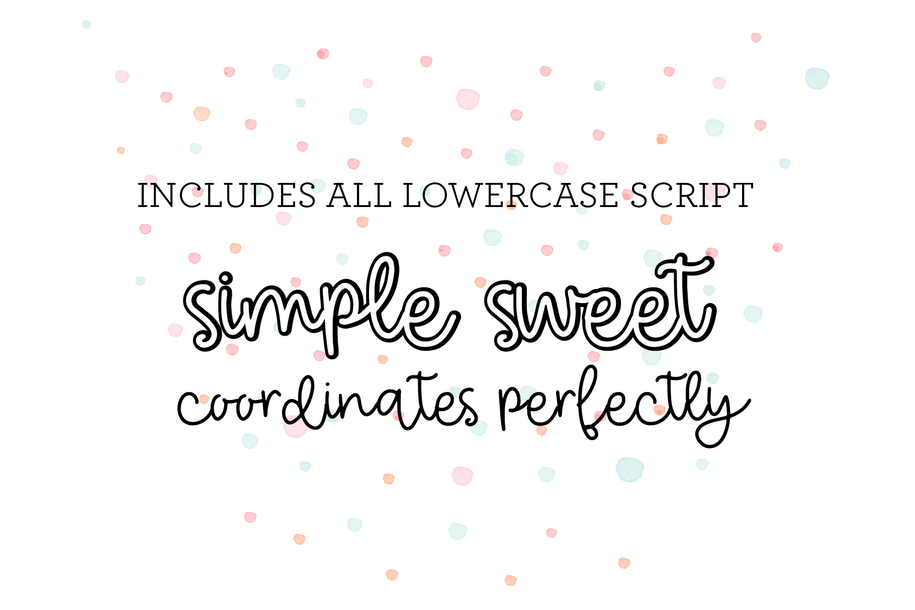 The Basic Font Bundle example image 9