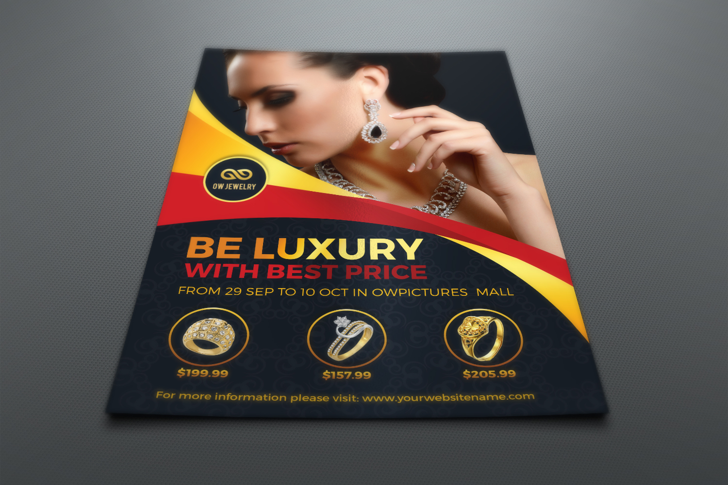 Jewelry Flyer Template example image 2