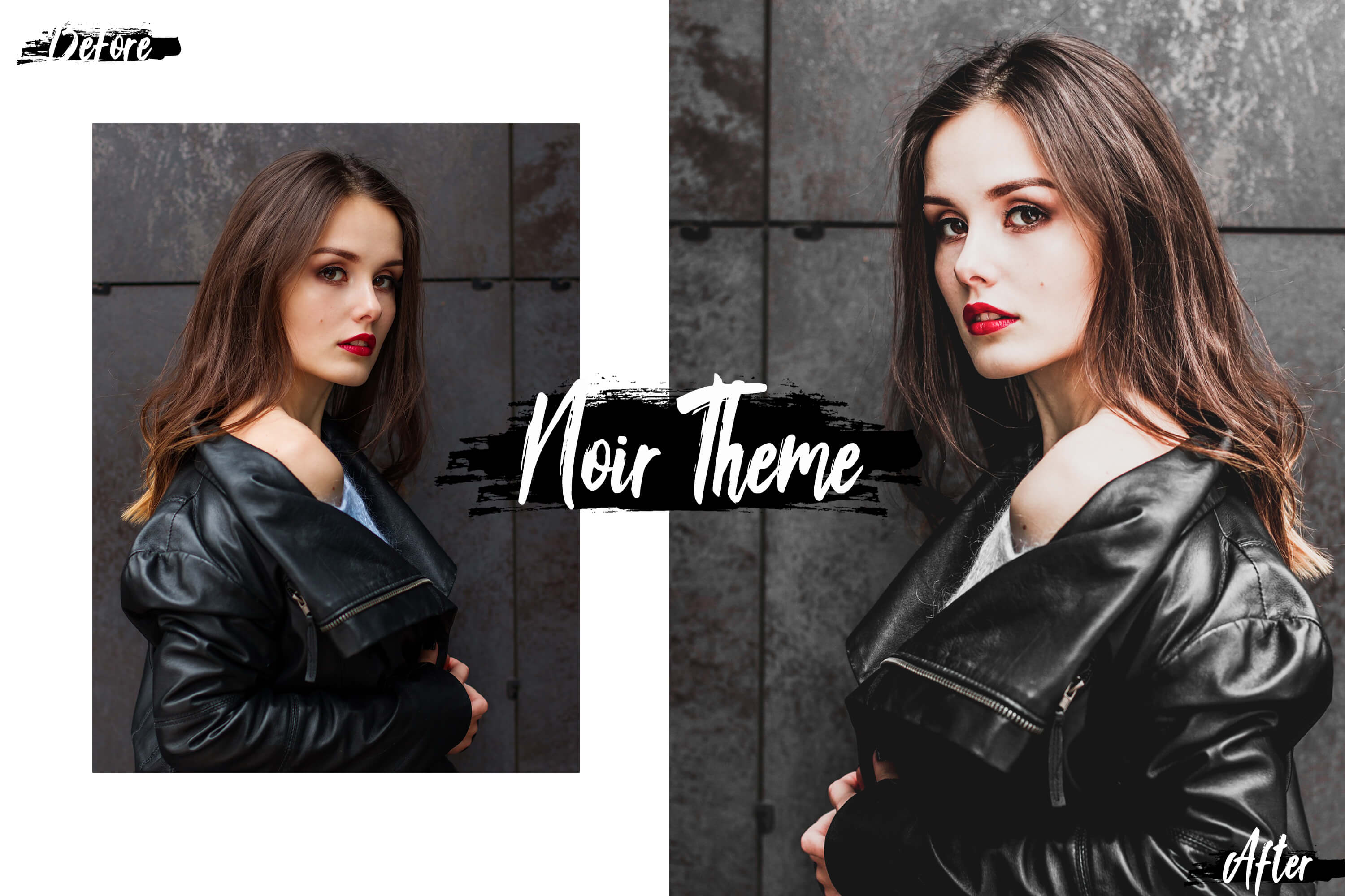 05 Noir Theme Desktop Lightroom Presets and ACR preset example image 7