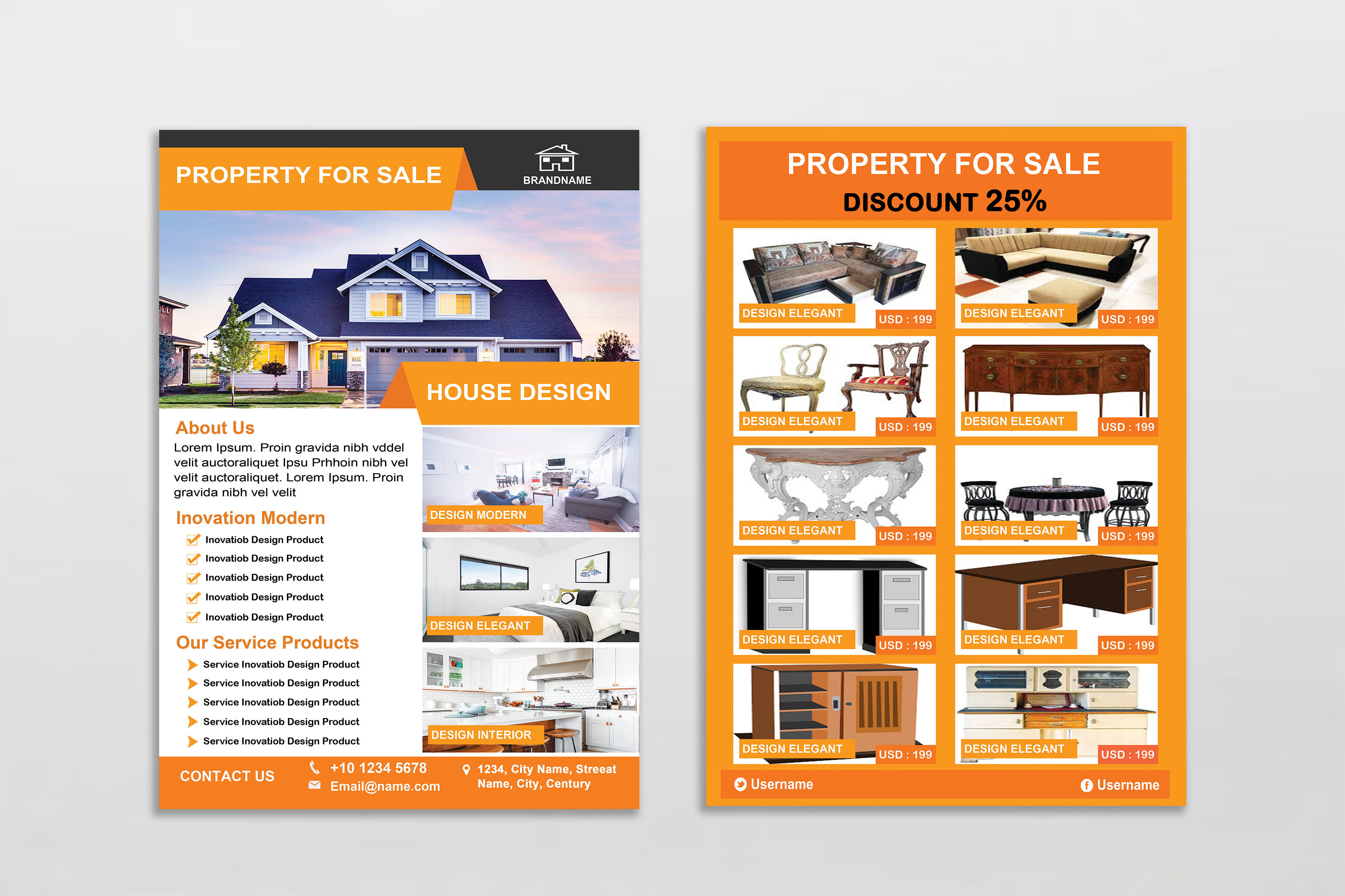 Flyer - Real Estate example image 4