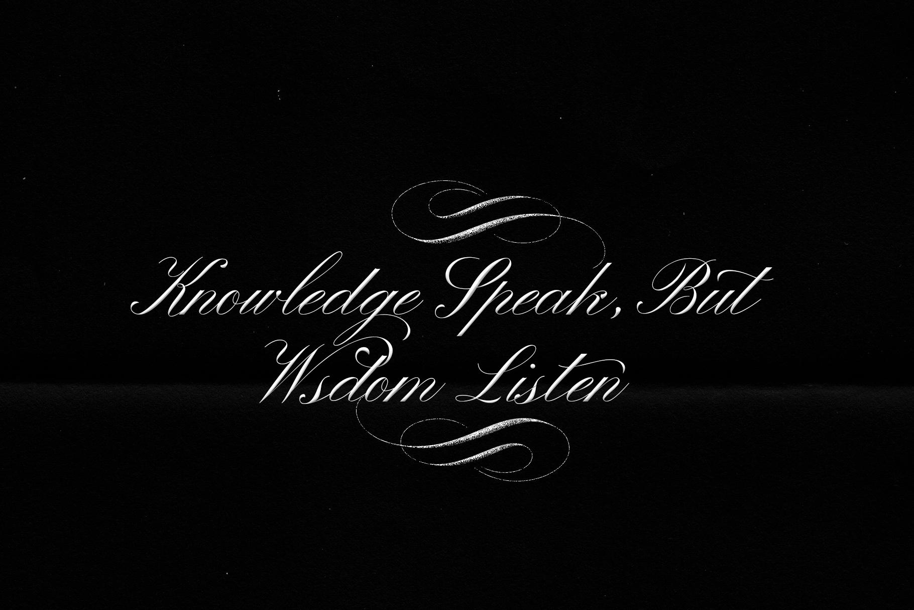 Winterskol Script font example image 2