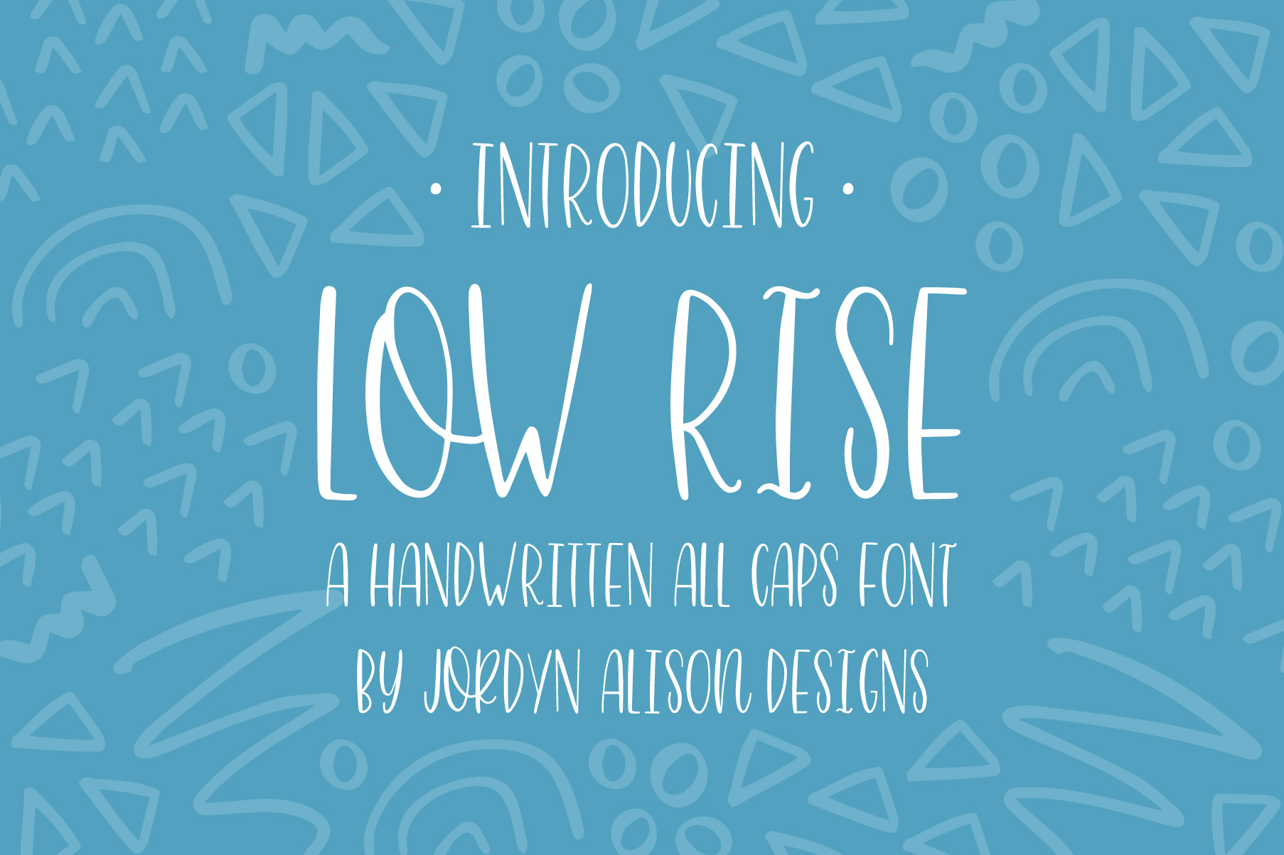 The Perfect Pair, Highwaisted and Low Rise Font Bundle example image 6