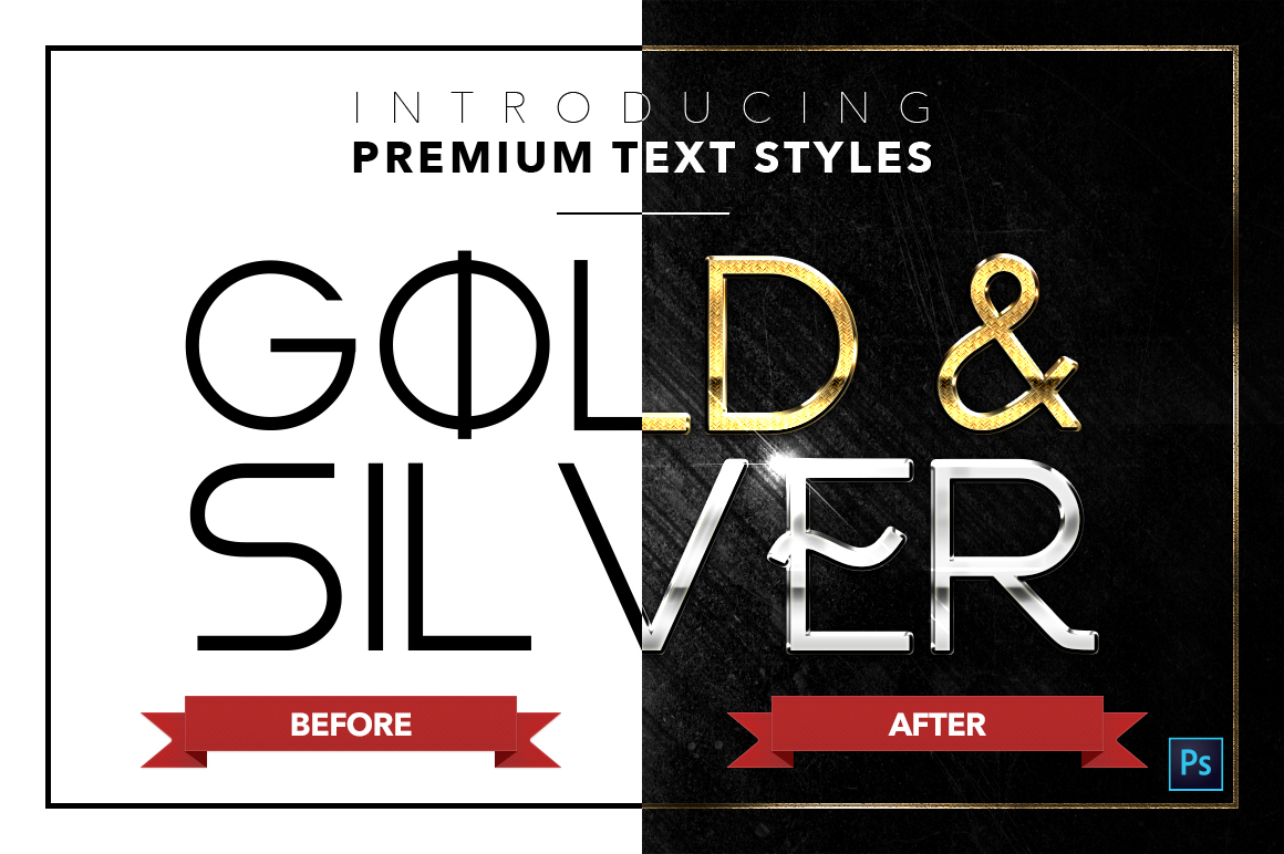 Gold & Silver #4 - 20 Text Styles example image 4
