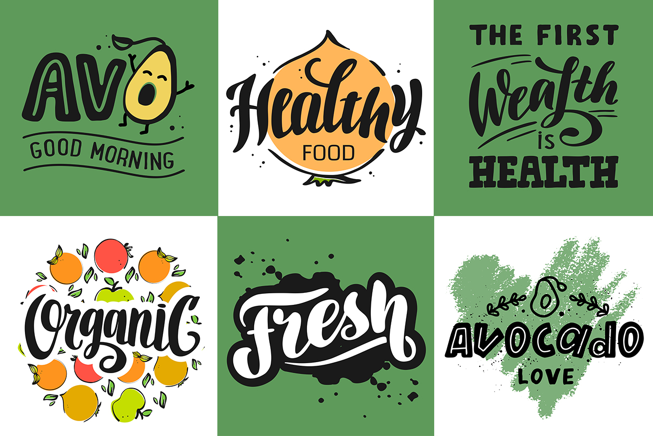 Logo & Lettering Eco collection example image 8