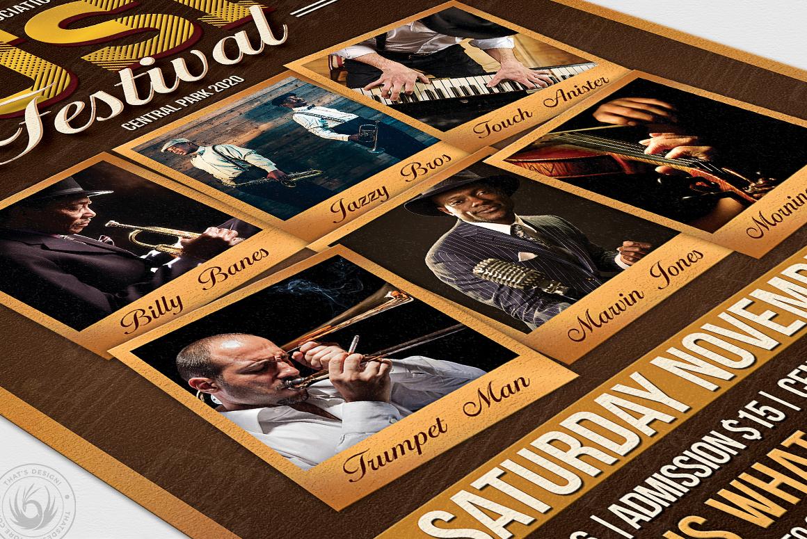 Music Festival Flyer Template V7 example image 6