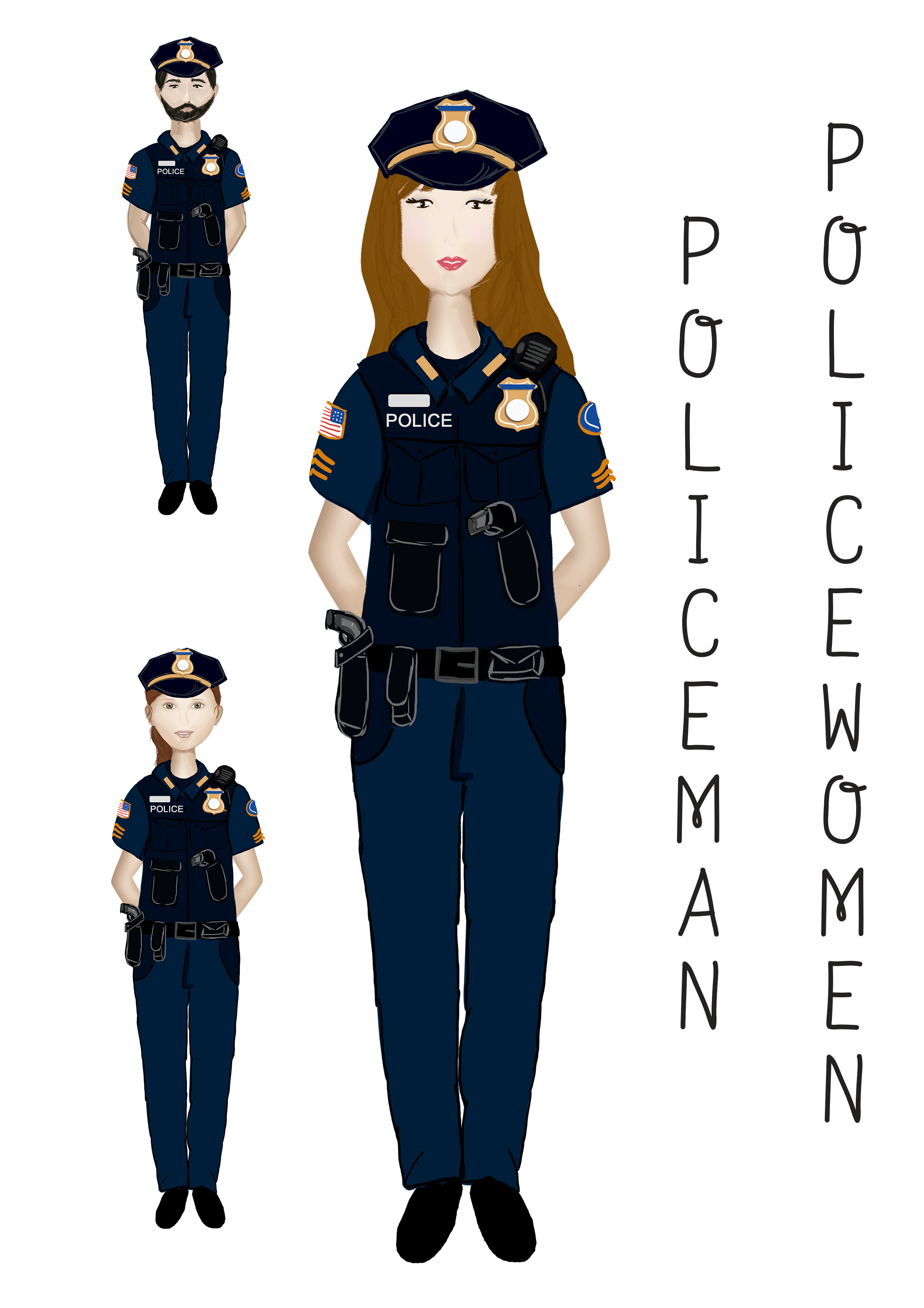 Profession's Characters example image 8