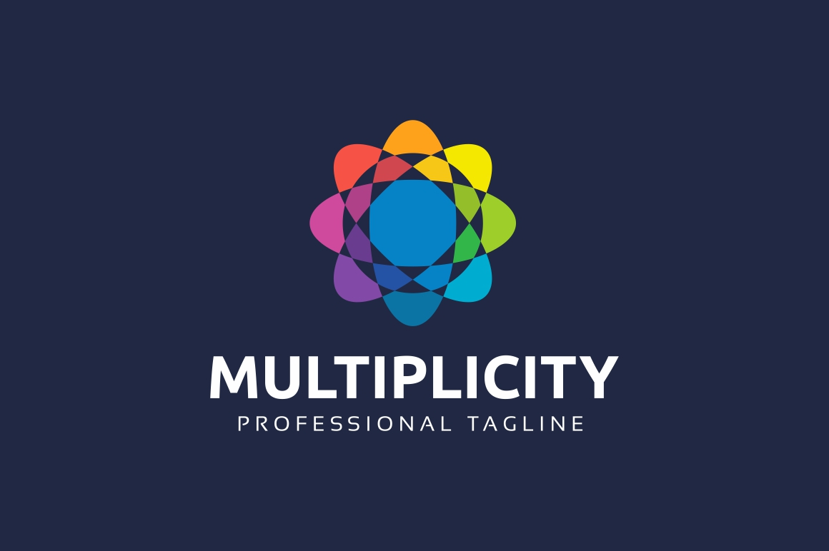 Multiplicity - Abstract Colorful Logo Template example image 2