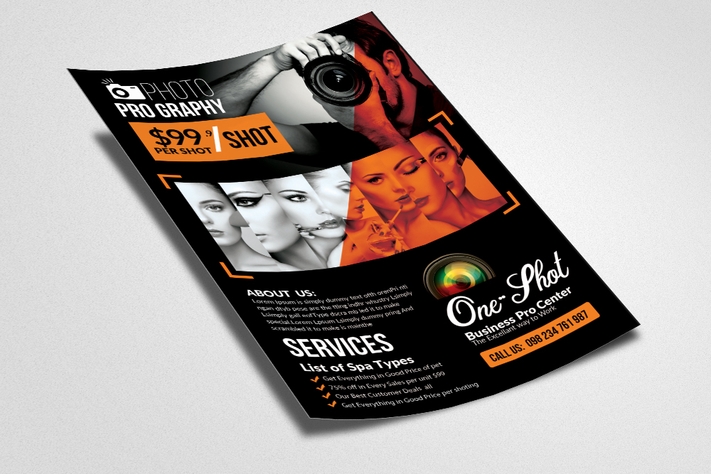 New Photography Flyer Template example image 2