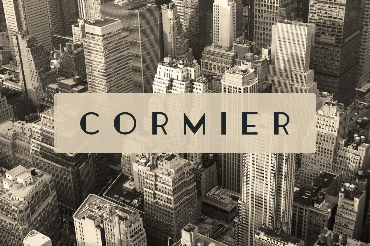 Cormier Typeface example image 1