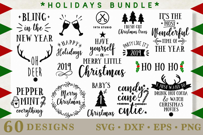 SVG Bundle - The Big SVG Bundle| SVG DXF EPS PNG example image 4